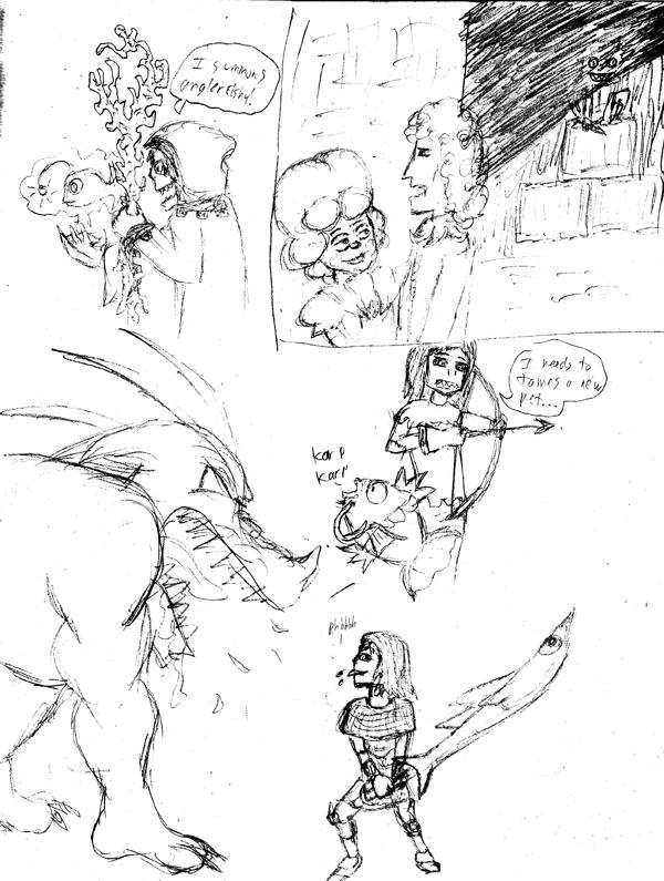 Selkie Sword And Sorcery