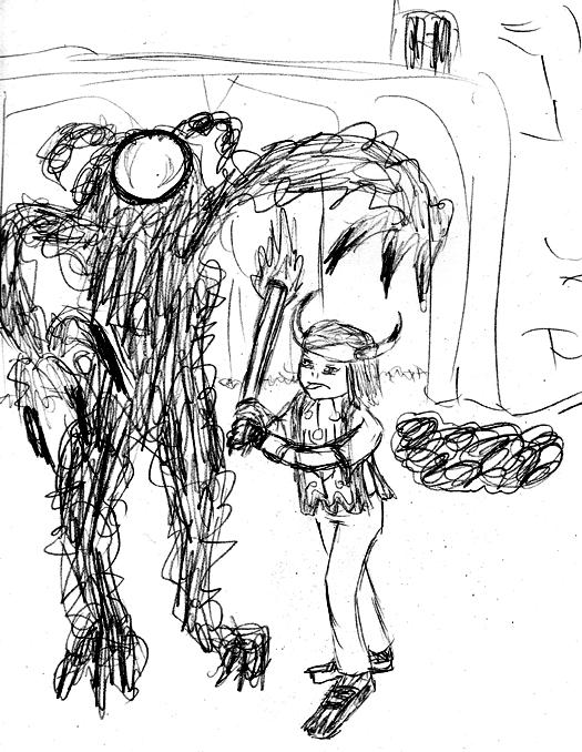 Selkie Ico Sketch