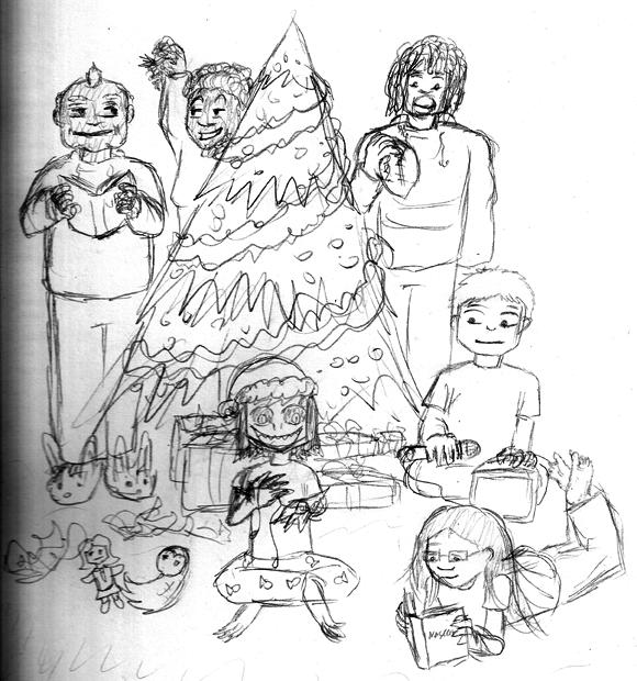 Selkie Christmas 2011