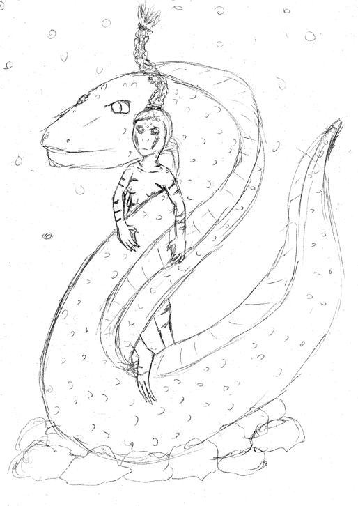 The Maiden And The Eel Spirit