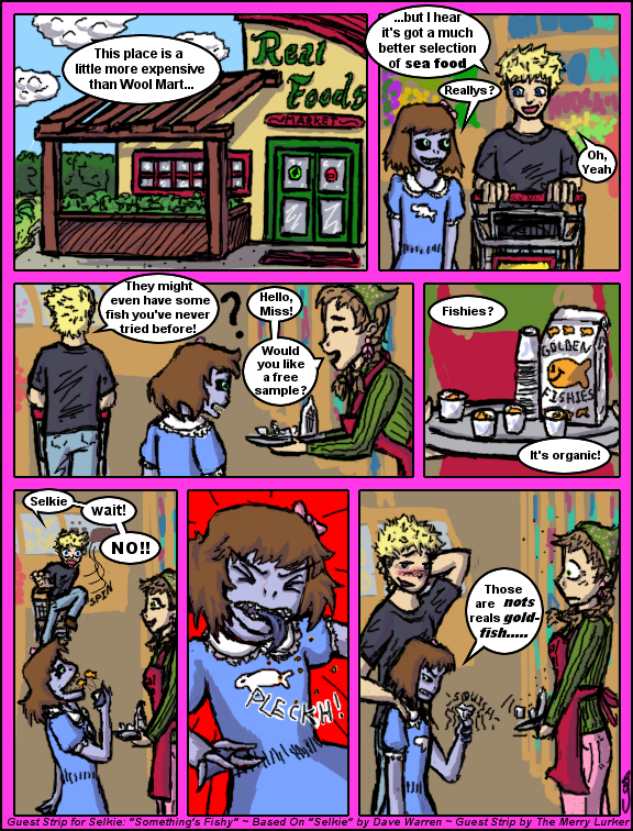 Selkie Guest Comic (The Merry Lurker)