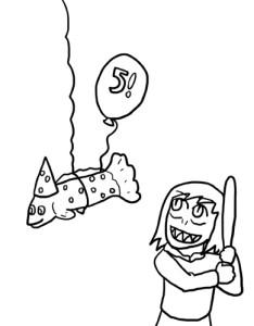 5th BDay Sketch