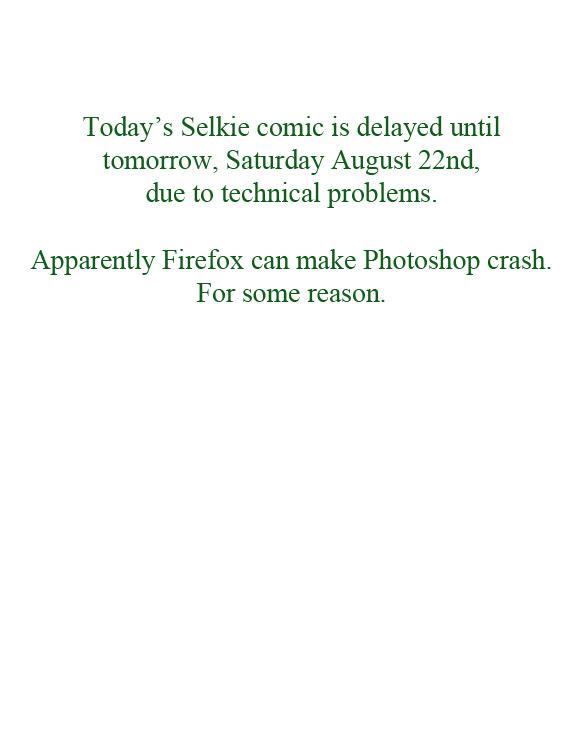 Delayed Comic